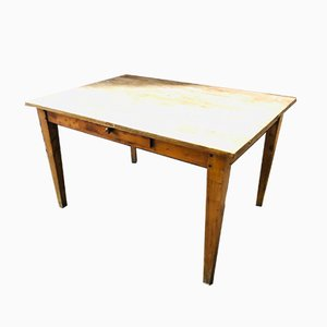 Farmers Table with Drawer, 1920s