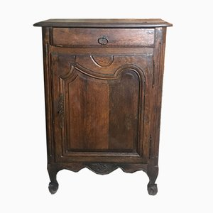 Antique Louis XV Style Jam Cupboard in Molded Oak