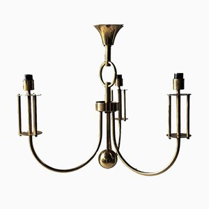 Brass Chandelier, 1970s