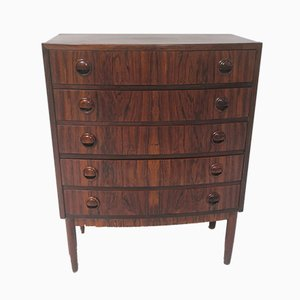 Rosewood Chest of Drawers by Kai Kristiansen for FM Møbler, 1960s