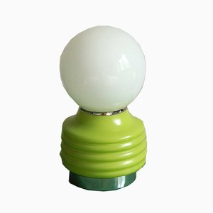 Space Age Italian Glass Pisellino Table Lamp, 1960s