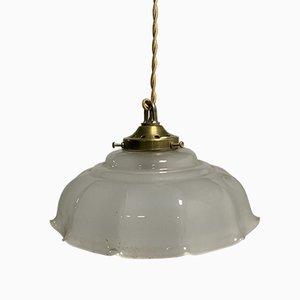 Italienische Küchen Deckenlampe, 1930er