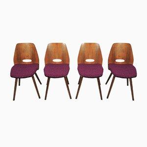 Chaises de Salon de Tatra, 1960s, Set de 4