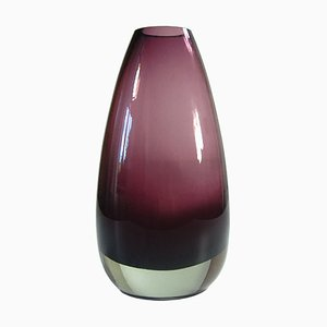 Finnish Glass Vase by Tamara Aladin for Riihimaki / Riihimaen Lasi Oy, 1960s