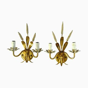 Hollywood Regency Italian Sconces, 1970s, Set of 2