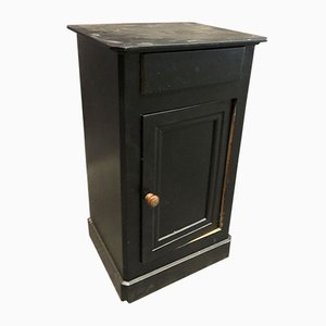 Small Black Nightstand, 1920s