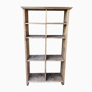Vintage Rustic Pinewood Shelf