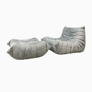 Mid-Century Togo Sofas by Michel Ducaroy for Ligne Roset, Set of 2