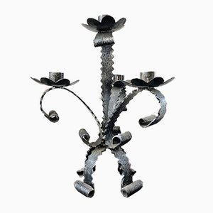 Wrought Iron Candleholder, 1950s