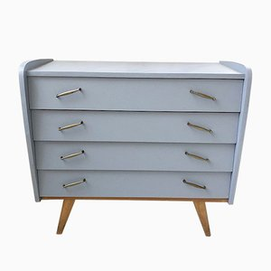 Vintage Blue Chest of Drawers, 1960s