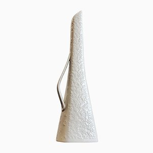 White Porcelain Bud Vase with Handle from Hutschenreuther, 1960s