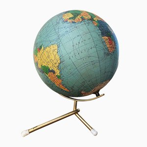Vintage Terrestrial Globe from George Philip & Son, 1960s