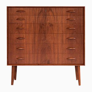 Mid-Century Danish Chest of 6 Drawers by Johannes Sorth for Nexø, 1960s