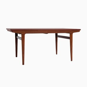 Mid-Century Danish Extendable Dining Table in Teak by Johannes Andersen for Uldum, 1960s