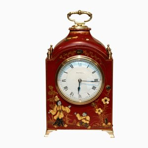 Chinoiserie Miniature Bracket Clock from Asprey & Co, 1920s