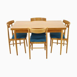 Mid-Century Dining Table & Chairs Set from Thonet, 1970s, Set of 5