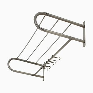 Functionalism Bauhaus Wall Rack Coat with 5 Hooks, 1930s