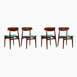 Rosewood Danish Chairs from Skovby Mobler, 1960s, Set of 4