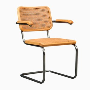 Beech S64 Cantilever Chair from Thonet, 1990s