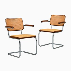 Brown S64 Cantilever Chair from Thonet, 1970s
