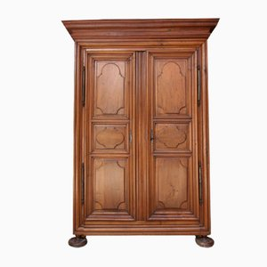Antique French Walnut Cabinet, 1780s