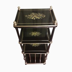 Napoleon III Brass Inlay Shelf