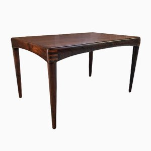 Rosewood Coffee Table by Henri Walter Klein for Bramin, 1960s