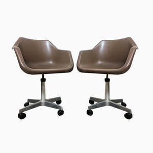 Vintage Lounge Chairs by Robin & Lucienne Day for Castelli / Anonima Castelli, 1967, Set of 2