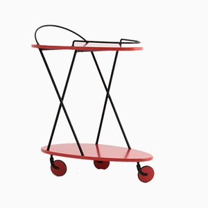 Mid-Century Italian Bar Trolley, 1960s