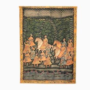 Indische Baumwollmalerei, 19. Jh