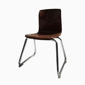 Mahogany Childrens Chair from Flötotto, 1960s