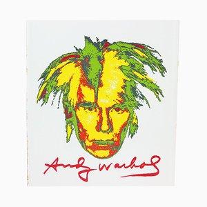 Panel de pared decorativo Andy Warhol de metal, años 60