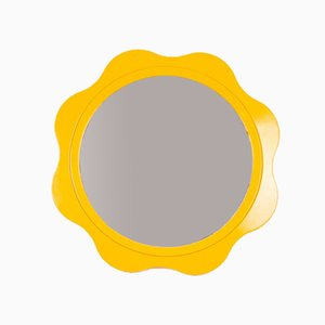 Vintage Yellow Mirror, 1970s