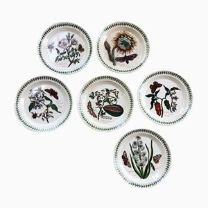 The Botanic Garden Plates, 1970s, Set of 6