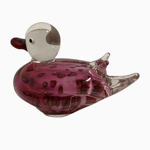 Murano Glass Goose Figurine, 1960s