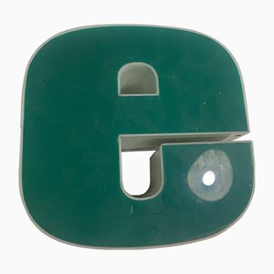 Vintage Plexiglas Letter E Sign