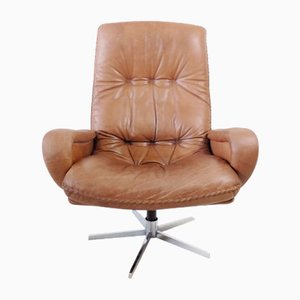 Leather Model S231 James Bond Lounge Chair from de Sede, 1960s