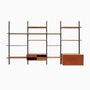 Mid-Century Teak Royal Shelving System by Poul Cadovius for Cado, 1960s