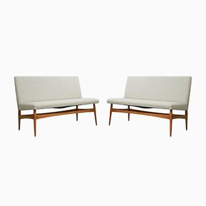 Mid-Century Sofas, 1960s, Set of 2