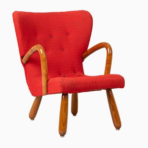 Model Åke Clam Chair from Ikea, 1950s
