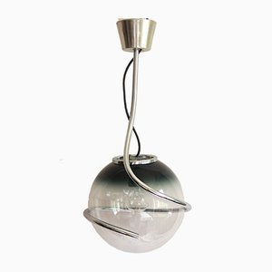 Space Age Italian Murano Glass Cobra Ceiling Lamp, 1960s