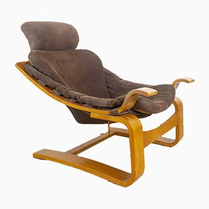 Vintage Model Kroken Armchair by Åke Fribytter for Nelo Möbel