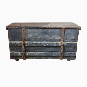 Vintage Weathered Trunk, 1920s
