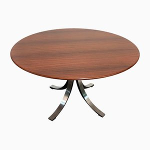 Model T69 Rosewood Dining Table by Eugenio Gerli & Osvaldo Borsani for Tecno, 1960s