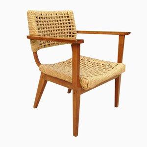 Mid-Century Lounge Chair by Adrien Audoux & Frida Minet for Maison Vibo, 1960s