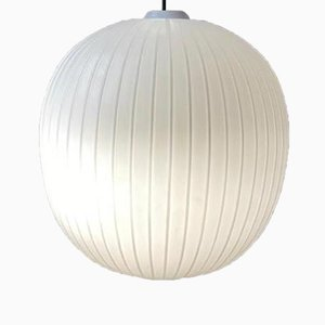 Large Opaline Ceiling Lamp, 1970s