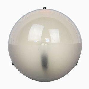 Italienische Halbmond Mid-Century Wandlampe von Gio Ponti für Guzzini, 1960er