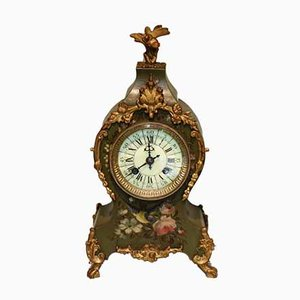 French Waisted Mantel Clock, 1870s
