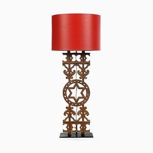Cast Iron Balustrade Lamp