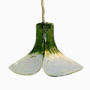Lampe à Suspension en Verre de Murano par Carlo Nason, 1960s
